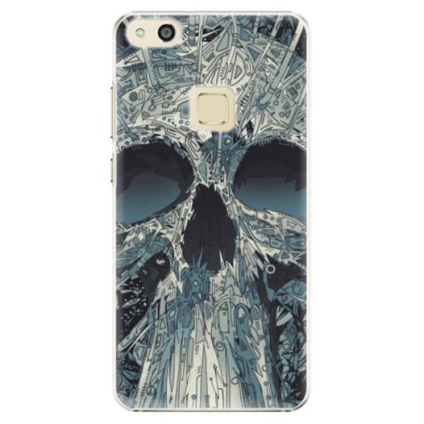 Plastové pouzdro iSaprio - Abstract Skull - Huawei P10 Lite