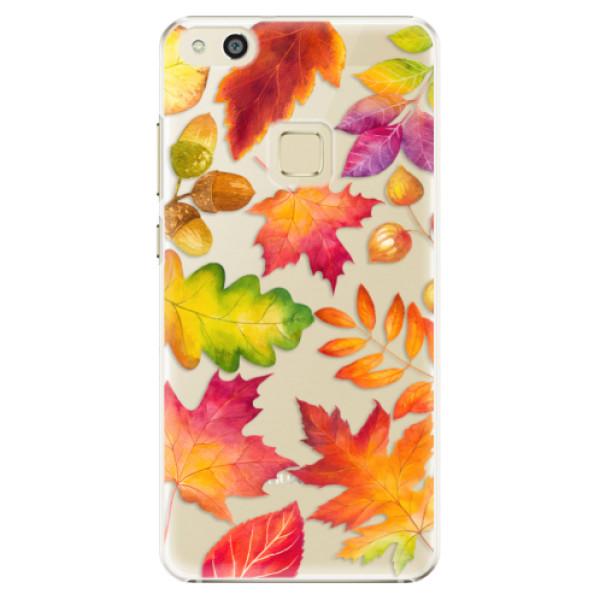 Plastové pouzdro iSaprio - Autumn Leaves 01 - Huawei P10 Lite