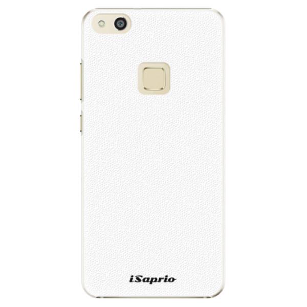 Plastové pouzdro iSaprio - 4Pure - bílý - Huawei P10 Lite
