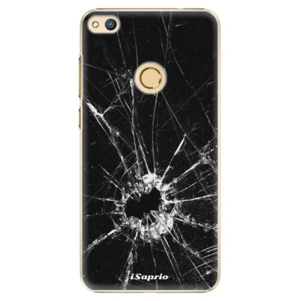 Plastové pouzdro iSaprio - Broken Glass 10 - Huawei Honor 8 Lite