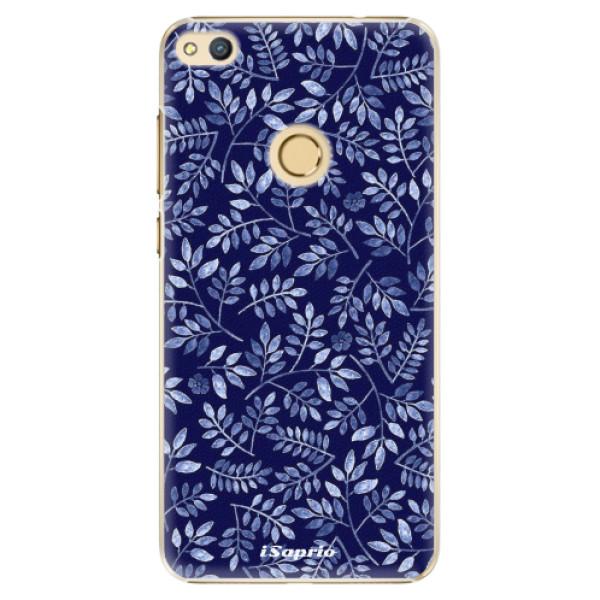 Plastové pouzdro iSaprio - Blue Leaves 05 - Huawei Honor 8 Lite