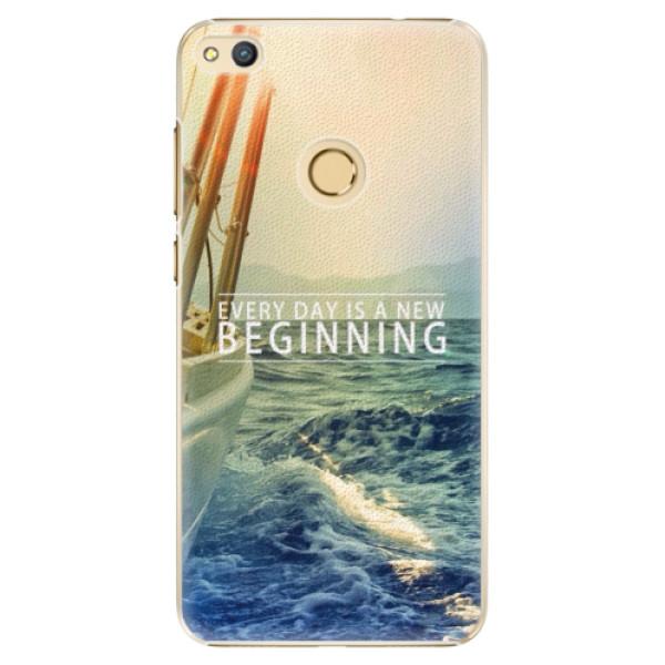 Plastové pouzdro iSaprio - Beginning - Huawei Honor 8 Lite