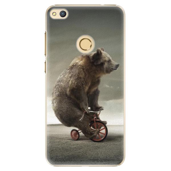 Plastové pouzdro iSaprio - Bear 01 - Huawei Honor 8 Lite