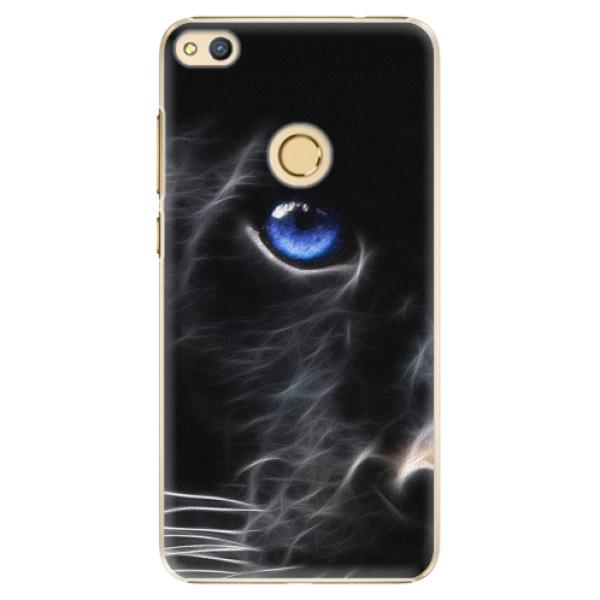 Plastové pouzdro iSaprio - Black Puma - Huawei Honor 8 Lite