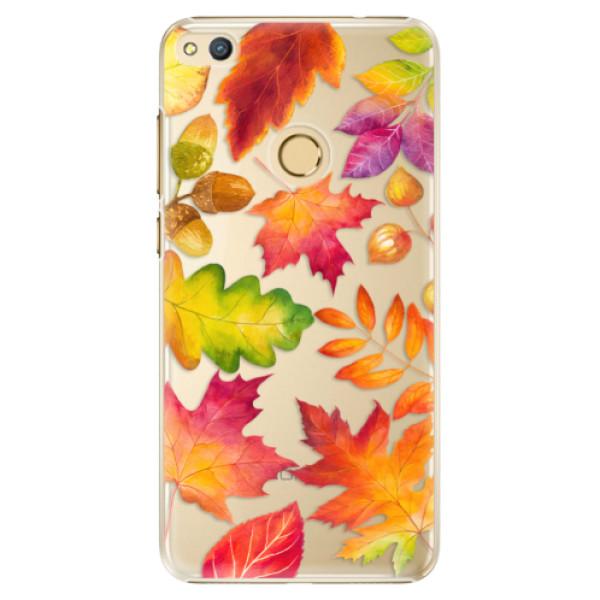 Plastové pouzdro iSaprio - Autumn Leaves 01 - Huawei Honor 8 Lite