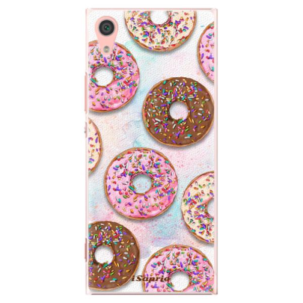 Plastové pouzdro iSaprio - Donuts 11 - Sony Xperia XA1