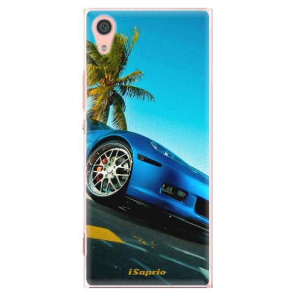 Plastové pouzdro iSaprio - Car 10 - Sony Xperia XA1