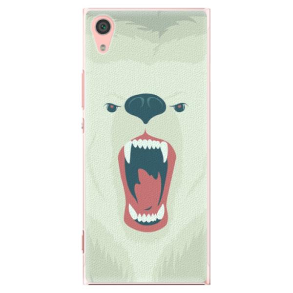 Plastové pouzdro iSaprio - Angry Bear - Sony Xperia XA1