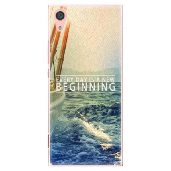 Plastové pouzdro iSaprio - Beginning - Sony Xperia XA1