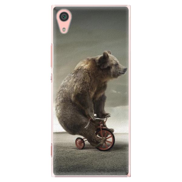 Plastové pouzdro iSaprio - Bear 01 - Sony Xperia XA1