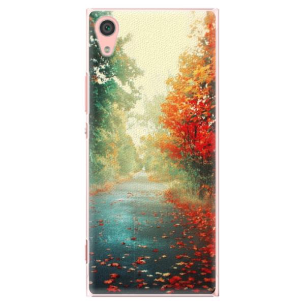 Plastové pouzdro iSaprio - Autumn 03 - Sony Xperia XA1