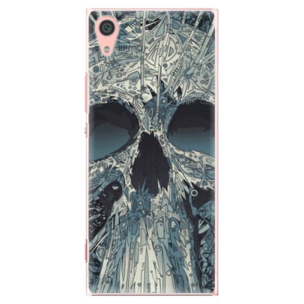 Plastové pouzdro iSaprio - Abstract Skull - Sony Xperia XA1