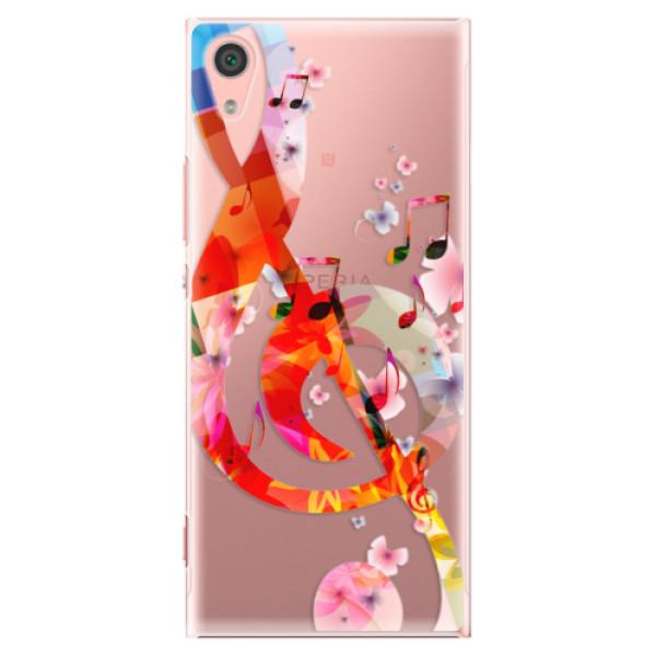 Plastové pouzdro iSaprio - Music 01 - Sony Xperia XA1