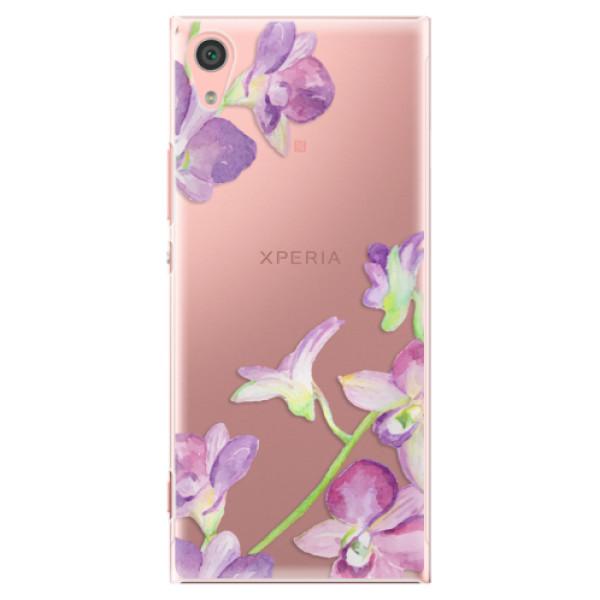 Plastové pouzdro iSaprio - Purple Orchid - Sony Xperia XA1