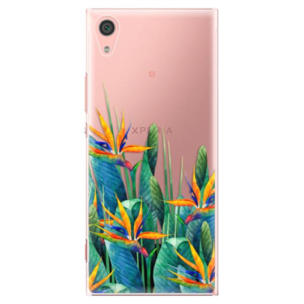 Plastové pouzdro iSaprio - Exotic Flowers - Sony Xperia XA1