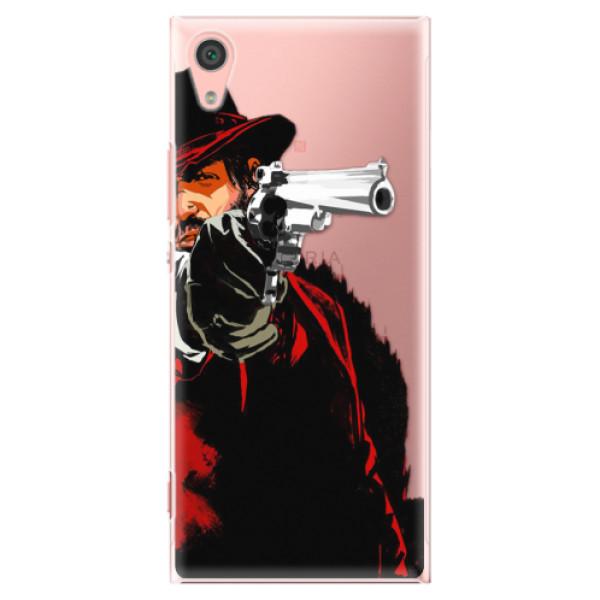 Plastové pouzdro iSaprio - Red Sheriff - Sony Xperia XA1