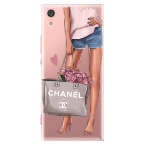 Plastové pouzdro iSaprio - Fashion Bag - Sony Xperia XA1