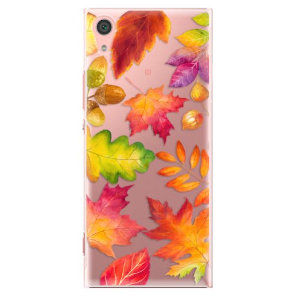 Plastové pouzdro iSaprio - Autumn Leaves 01 - Sony Xperia XA1