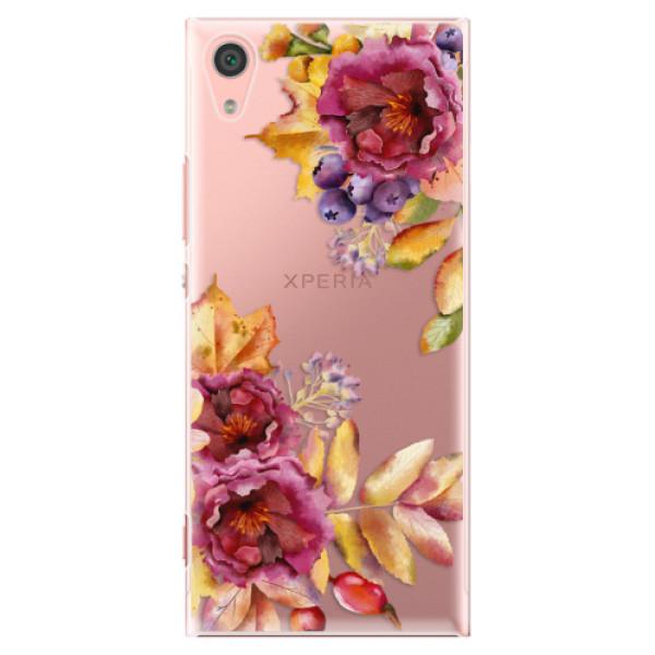 Plastové pouzdro iSaprio - Fall Flowers - Sony Xperia XA1