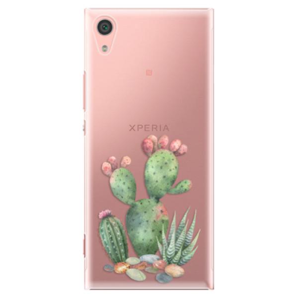 Plastové pouzdro iSaprio - Cacti 01 - Sony Xperia XA1