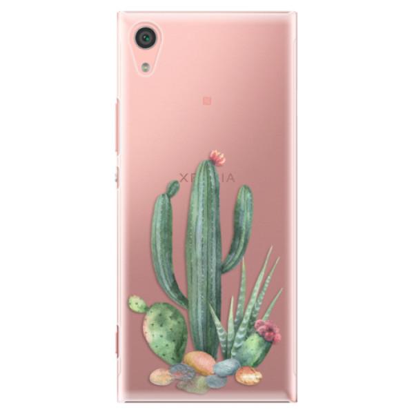 Plastové pouzdro iSaprio - Cacti 02 - Sony Xperia XA1