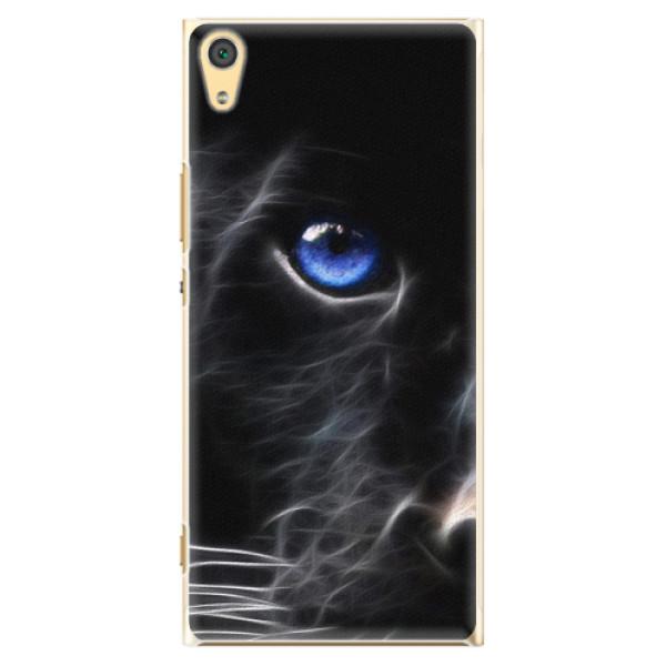 Plastové pouzdro iSaprio - Black Puma - Sony Xperia XA1 Ultra