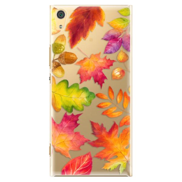 Plastové pouzdro iSaprio - Autumn Leaves 01 - Sony Xperia XA1 Ultra