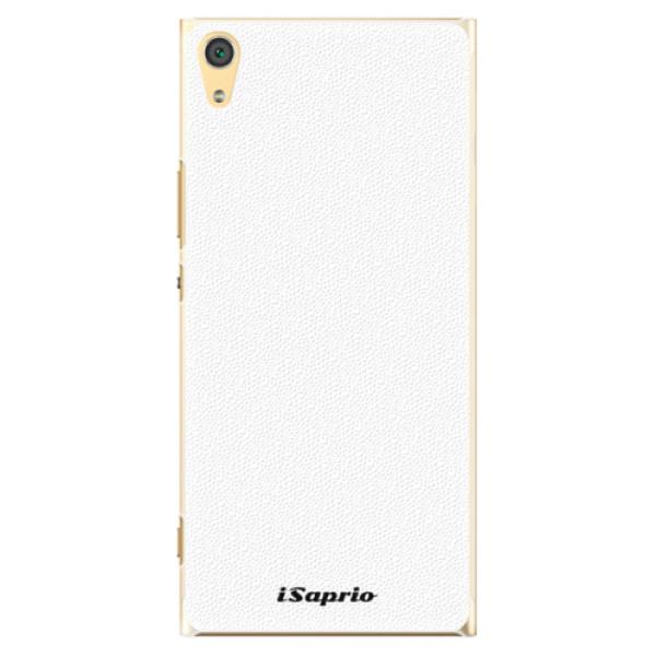 Plastové pouzdro iSaprio - 4Pure - bílý - Sony Xperia XA1 Ultra