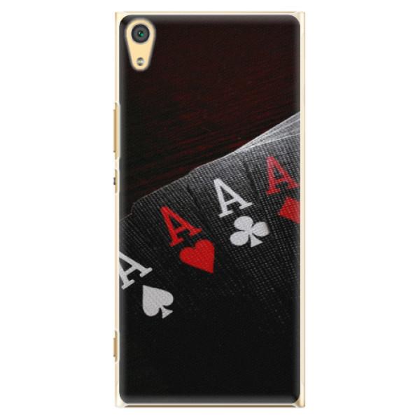 Plastové pouzdro iSaprio - Poker - Sony Xperia XA1 Ultra