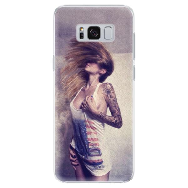 Plastové pouzdro iSaprio - Girl 01 - Samsung Galaxy S8 Plus