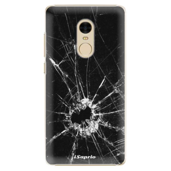 Plastové pouzdro iSaprio - Broken Glass 10 - Xiaomi Redmi Note 4