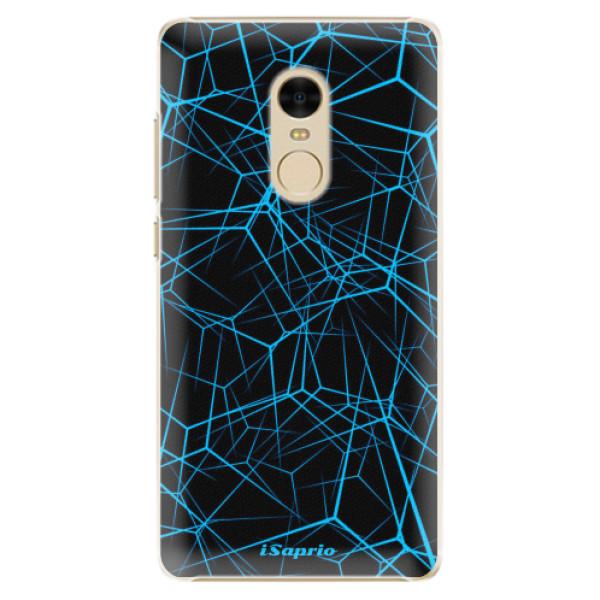 Plastové pouzdro iSaprio - Abstract Outlines 12 - Xiaomi Redmi Note 4