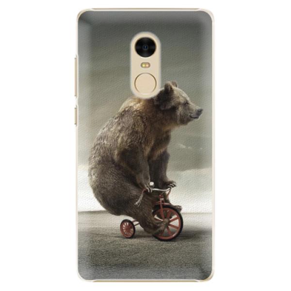 Plastové pouzdro iSaprio - Bear 01 - Xiaomi Redmi Note 4