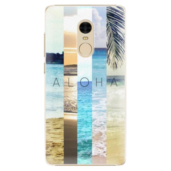 Plastové pouzdro iSaprio - Aloha 02 - Xiaomi Redmi Note 4