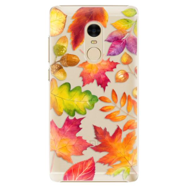 Plastové pouzdro iSaprio - Autumn Leaves 01 - Xiaomi Redmi Note 4