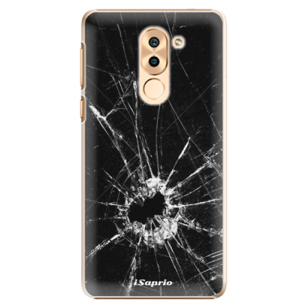Plastové pouzdro iSaprio - Broken Glass 10 - Huawei Honor 6X