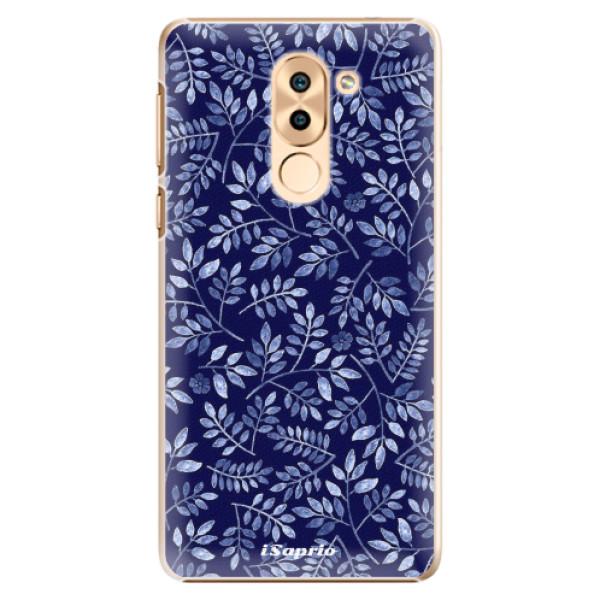 Plastové pouzdro iSaprio - Blue Leaves 05 - Huawei Honor 6X