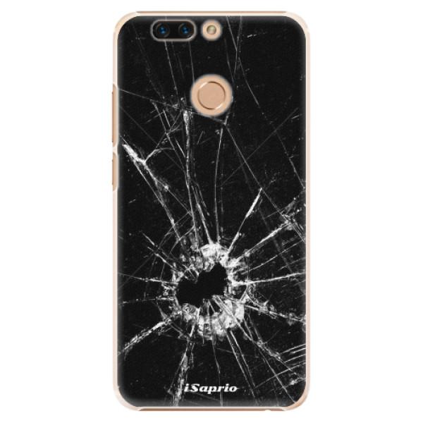 Plastové pouzdro iSaprio - Broken Glass 10 - Huawei Honor 8 Pro
