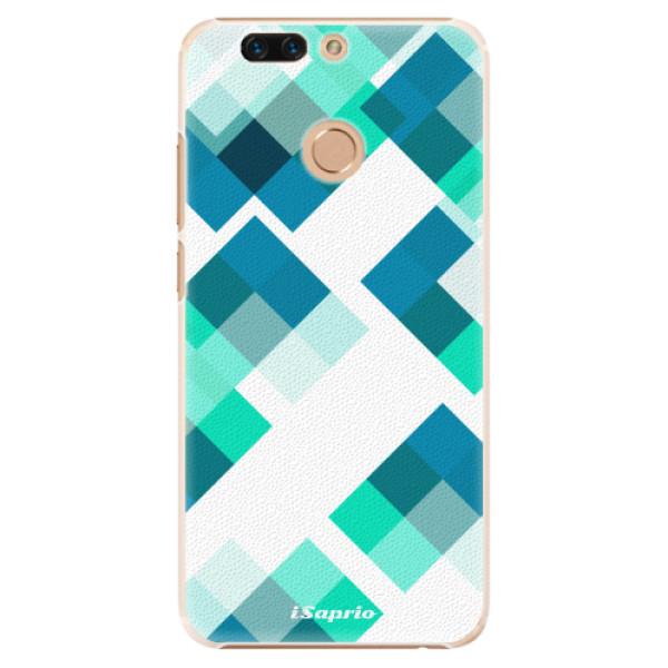 Plastové pouzdro iSaprio - Abstract Squares 11 - Huawei Honor 8 Pro
