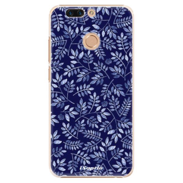 Plastové pouzdro iSaprio - Blue Leaves 05 - Huawei Honor 8 Pro