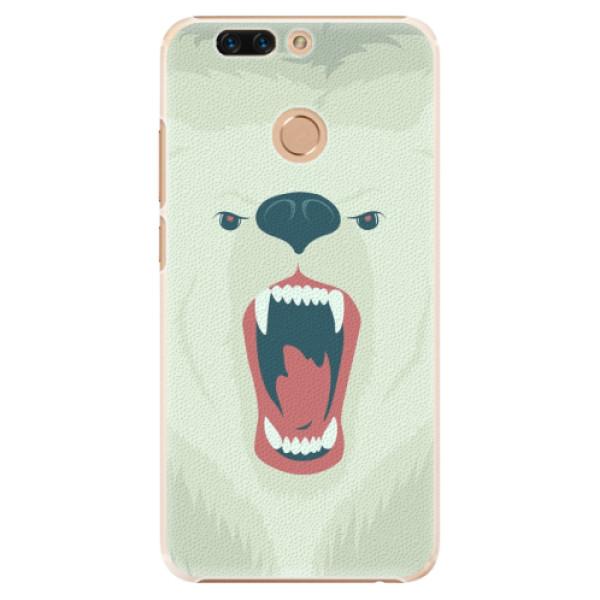 Plastové pouzdro iSaprio - Angry Bear - Huawei Honor 8 Pro