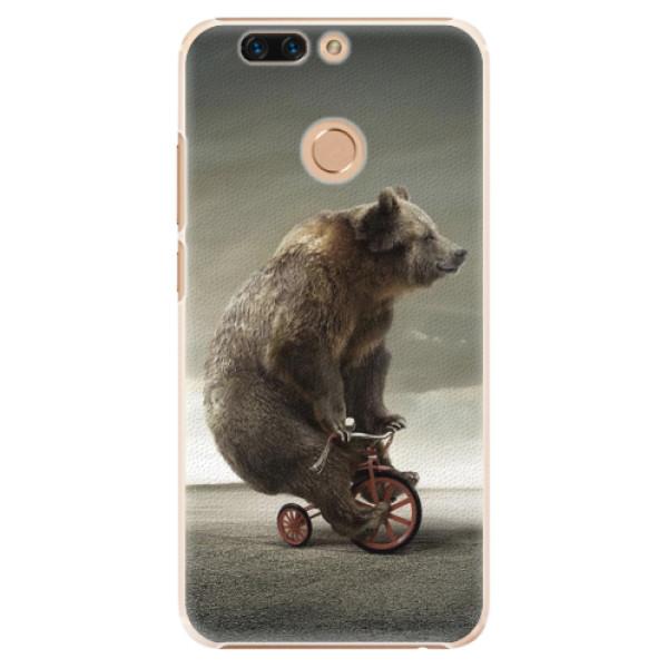 Plastové pouzdro iSaprio - Bear 01 - Huawei Honor 8 Pro
