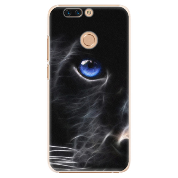 Plastové pouzdro iSaprio - Black Puma - Huawei Honor 8 Pro