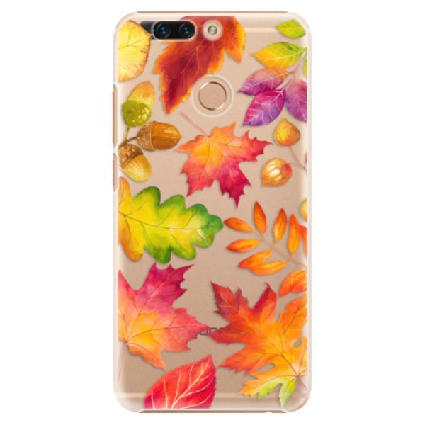 Plastové pouzdro iSaprio - Autumn Leaves 01 - Huawei Honor 8 Pro