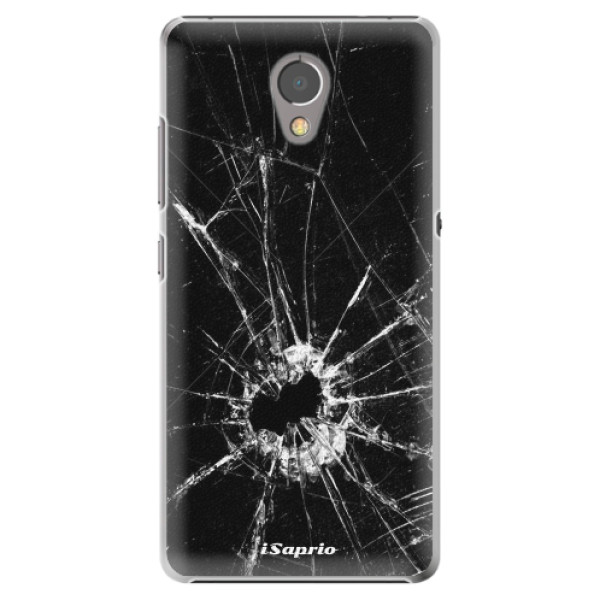 Plastové pouzdro iSaprio - Broken Glass 10 - Lenovo P2