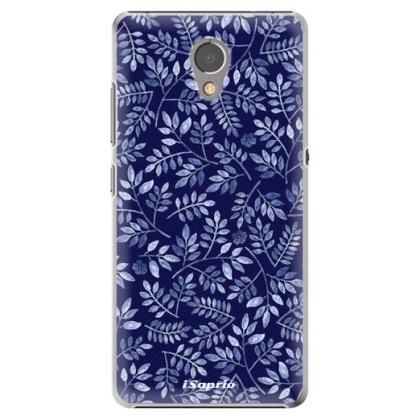 Plastové pouzdro iSaprio - Blue Leaves 05 - Lenovo P2
