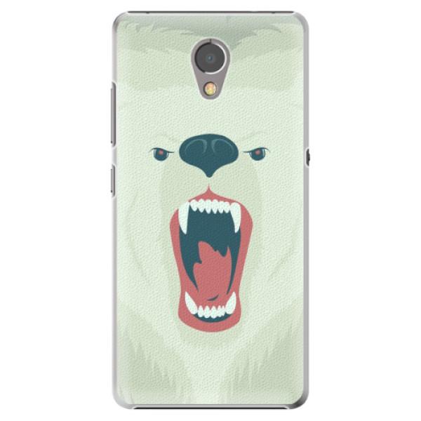 Plastové pouzdro iSaprio - Angry Bear - Lenovo P2