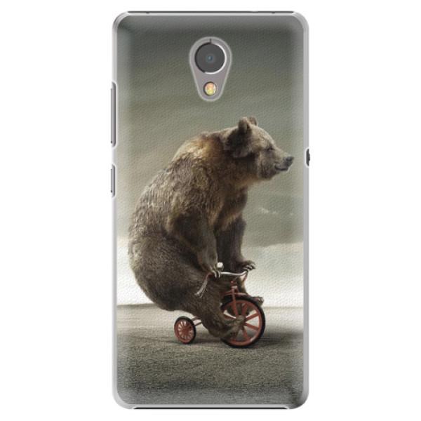 Plastové pouzdro iSaprio - Bear 01 - Lenovo P2