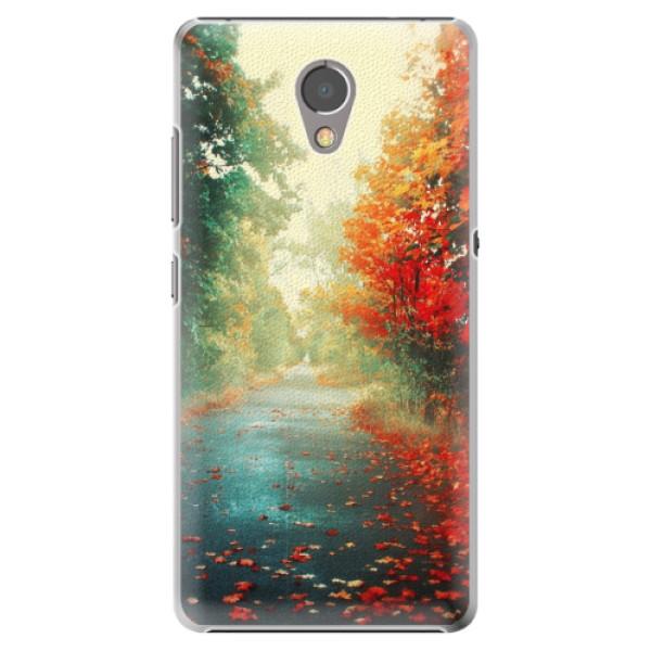 Plastové pouzdro iSaprio - Autumn 03 - Lenovo P2