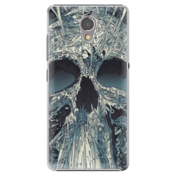 Plastové pouzdro iSaprio - Abstract Skull - Lenovo P2